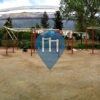 Santiago de Chile - Outdoor Fitness Station - Camilo Mori/Tobalaba