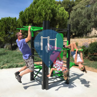 奥利乌勒 - 户外运动健身房 - Aire de fitness en accès libre