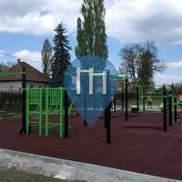 Szigetszentmiklós - Parque Calistenia - Kéktó Szabadidőközpont
