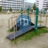Workout Station - Takatsuki Shi - Shibafu Daisan Outdoor Fitness Spot. 芝生第三公園