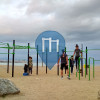 Outdoor-Fitness-Anlage - Barcelona - Calisthenics Barcelona Sand-Beach Park