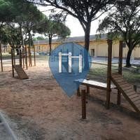 马贝拉 - 徒手健身公园 - Area Calistenia