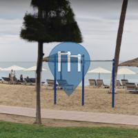 Nha Trang - Exercise Park - Outdoor Pull Up Bar Beach Spot
