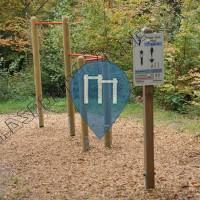 Rutesheim - Trimm Dich Pfad - Waldsportpfad am Waldhochseilgarten