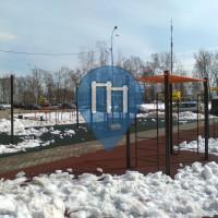 Ginásio ao ar livre - Dolgoprudny - Street Workout Park Dolgoprudny