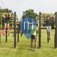 Amstelveen - Outdoor Fitness Bootcamp - Anlage - Sportpark Escapade