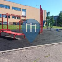 Riga - Outdoor Fitness Corner - 80.vidusskola