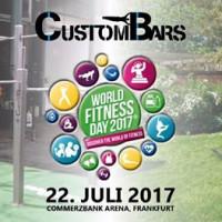 CustomBars at WorldFitnessDay 2017