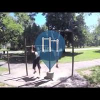 Denver - Barre de traction en plein air  - Crestmoor Park