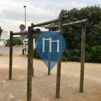 Castelnau-le-Lez - 户外单杠 - Parc public