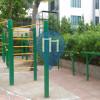 Бангкок - уличных спорт площадка - Santiphap Park
