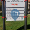 Parque Street Workout - Newport - Aarp Fitlot Fitness Park