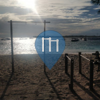 Calisthenics Facility - Outdoor Fitness Park - Gili Trawangan Bars
