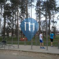 Banja Luka - Parque Calistenia - Park Mladen Stojanović