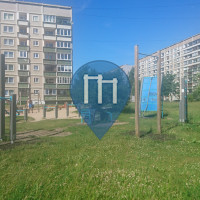 Рига - уличных спорт площадка - Ziepniekkalns