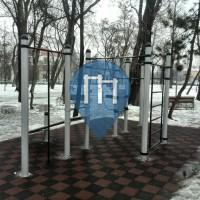Cluj-Napoca - Parque Street Workout - Parcul Central Simion Bărnuţiu