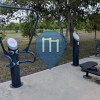 San Antonio - Outdoor Fitness Trail - Olmos Basin Park