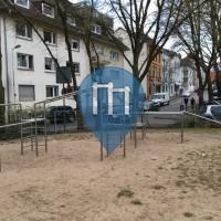 Darmstadt - Воркаут площадка - Jugendstilbad