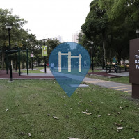Singapore - Outdoor Exercise Park - Tiong Bahru Park