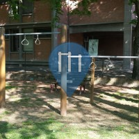 Carpi - Воркаут площадка - Giardino Rodan