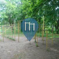 Narva-Jõesuu linn - Street Workout Park - Jaan Poska