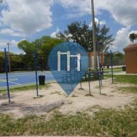 迈阿密海滩 - 户外运动健身房 - Flamingo Park