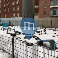 赫尔辛基 - 徒手健身公园 - Leonkatu 16