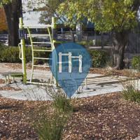 Santa Clara - Outdoor-Fitness-Anlage - Laurelwood Calisthenics Spot