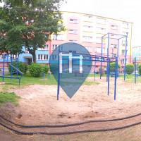 Бялогард - уличных спорт площадка - Plac Stanisława Wyspiańskiego