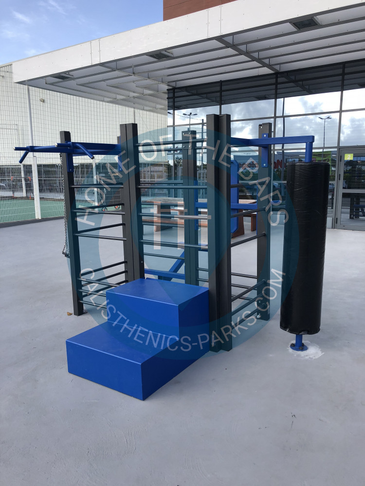 le lamentin outdoor fitnessstation decathlon frankreich spot. Black Bedroom Furniture Sets. Home Design Ideas