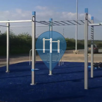 Roermond - Street Workout Park - Decathlon Calisthenics Park