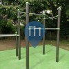 Outdoor Pull Up Bars - Châtillon - Outdoor Gym Square Leo Malet