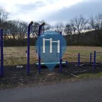 Calisthenics Stations - Wilkesboro - Outdoor Fitness Yadkin River Greenway