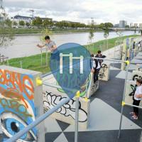 Nantes - Parkour Park - Île de Nantes