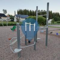 Перекладины под открытым небом - Лахти - Vintilänpuisto fitness corner