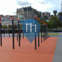 Воркаут площадка - Сантурсе - Streetworkout Santurtzi, Basque Country, Spain