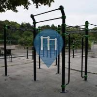 Mannheim - Parc Street Workout - Barmania.PRO (Pfalzplatz)