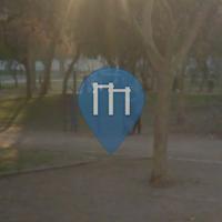 Santiago de Chile - Parco Calisthenics - Almagro Park