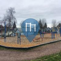 Tacoma - Outdoor Exercise Gym - Whitman Elementary School