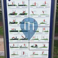 Outdoor-Fitness-Park - Hamburg - Bewegungsinsel Eimsbüttel