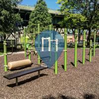 Milwaukee - Ginasio ao ar livre - Arlington Heights Park