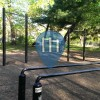 New York - Bodyweight Fitness Stationen - Prospect Park Lake