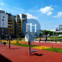 Saint-Denis - Parco Calisthenics - Square de la Cristallerie
