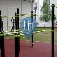 Gimnasio al aire libre - París - Centre sportif porte Chaumont