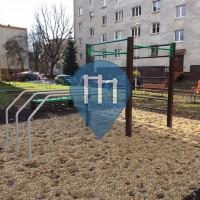 Košice - уличных спорт площадка - Sever
