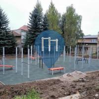 Habartov - Street Workout Equipment - Čs. armády