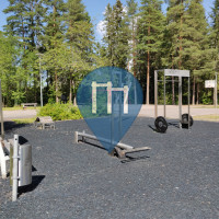 Gimnasio al aire libre - Lahti - Liipola outdoor gym
