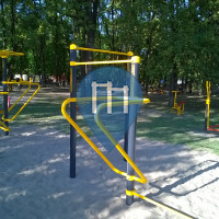 Szeged - Outdoor Fitness Geräte - Sziksósfürdő Strand