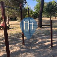 Ginásio ao ar livre - Massa - Percorso Vita con Sbarre per trazioni varie altezze