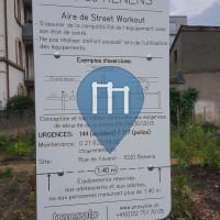 Renens-Village - Street Workout Park - Rue de l'Avenir - Transalp